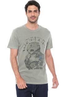 Camiseta Reserva Estampada Verde