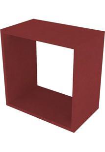 Nicho Quadrado Cubo I Vermelho