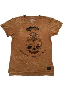 Camiseta Longline Stoned Estonada Losing My Mind Masculina - Masculino