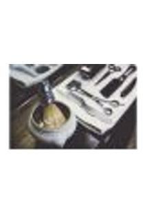 Painel Adesivo De Parede - Barbearia - Barber Shop - 1124Pnp