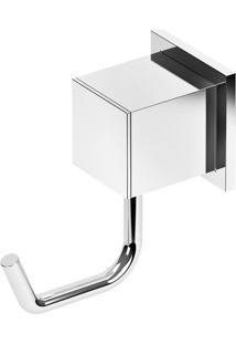 Cabide Para Banheiro Home 3 X 8 Cm Cromado 406 C37 Meber