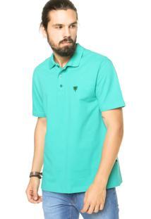 Camisa Polo Cavalera Assinatura Clássica Verde