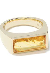 Tom Wood Anel Peaky De Ouro 9K - Dourado