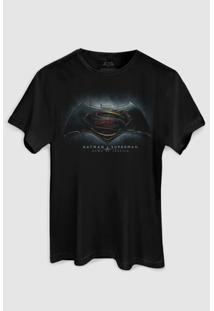 Camiseta Dc Comics Batman Vs Superman Dawn Of Justice Bandup! - Masculino