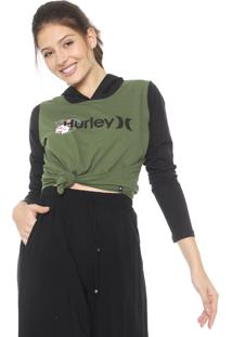 Blusa Hurley One&Only Verde