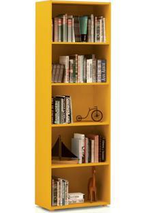 Estante Para Livros Multy - Artely Amarelo