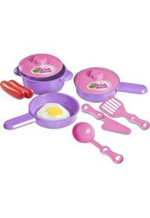 Kit Zuca Toys Nossa Cozinha Frigideira
