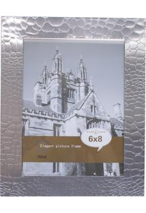 Porta Retrato Minas De Presentes Alumínio Prateado
