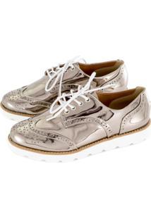 6eb1cec6d Sapato Oxford Vazado feminino