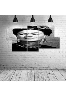 Quadro Decorativo - Frida-Pb - Composto De 5 Quadros - Multicolorido - Dafiti