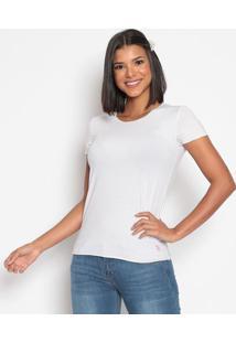 Camiseta Listrada - Branca & Cinzaus Polo
