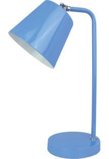 Abajur Colorido Premier Iluminação Melody Metal Azul