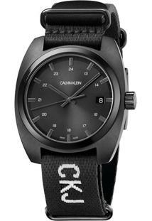 Relógio Calvin Klein Preto - U