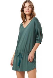 Camisola Corpo E Arte Milly Verde - Verde - Feminino - Viscose - Dafiti