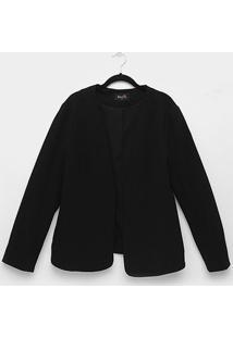 Blazer Kedio Sem Gola Plus Size Feminino - Feminino