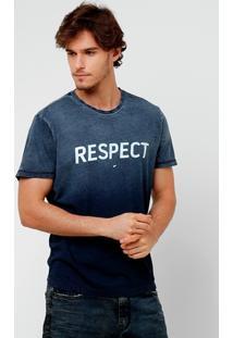 Camiseta Ellus Indigo Respect - Masculino