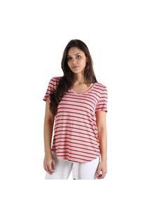 T-Shirt Its&Co Lily Rosa Salmao