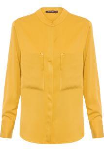 Camisa Feminina Topázio - Amarelo