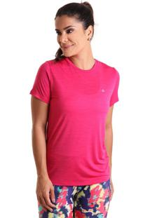 Camiseta Basic Em Energy Rosa Liquido