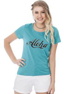 Blusa Aloha Azul