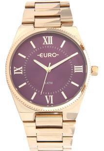 Relógio Euro Eu2035Yqs/4N Dourado