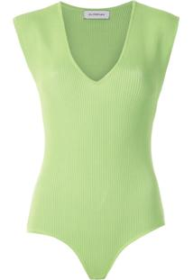 Olympiah Body Marcose De Tricô - Verde