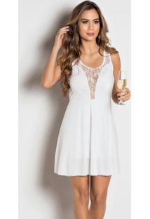 ab2ff5f245 Vestido Basico Branco feminino