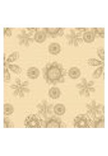 Papel De Parede Autocolante Rolo 0,58 X 3M - Floral 1247
