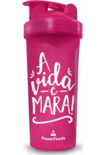 Coqueteleira Rosa A Vida É Mara! - Powerfoods