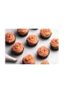 Painel Adesivo De Parede - Cupcakes - Confeitaria - 1171Pnm