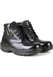 Bota Top Franca Shoes Adventure Masculino - Masculino-Preto