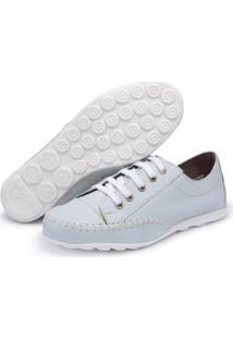 Tênis Top Franca Shoes Feminino - Feminino-Azul Claro