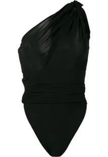 Saint Laurent Body Um Ombro Só - Preto