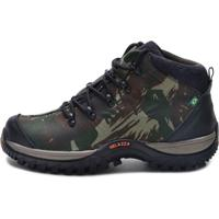 Bota Helazza Boots Adventure Camuflada Verde ea848062c65