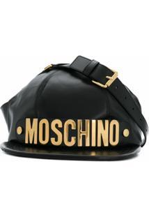 Moschino Boné Com Logo - Preto