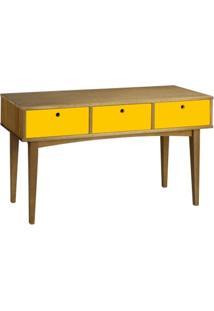 Aparador Vintage Na Cor Amarelo - Unissex