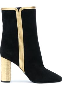 Saint Laurent Ankle Boot 'Loulou' - Preto