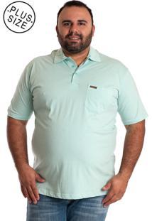 Camisa Konciny Polo Plus Size Verde