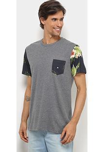 Camiseta Dc Shoes Especial Kelson Pocket Masculina - Masculino