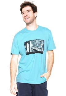 Camiseta Rusty Shaper Azul