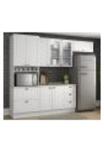 Cozinha Modulada 4 Peças 100% Mdf Americana 4B Branco Henn