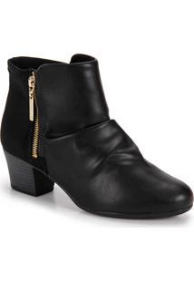 Ankle Boots Conforto Modare - Preto