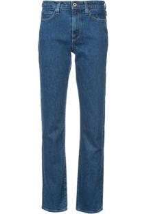 Simon Miller Calça Jeans Reta 'Iona' - Azul
