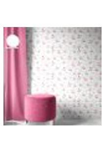Papel De Parede Adesivo Autocolante Infantil Borboletas Em Tons Aquarela De Rosa E Azul