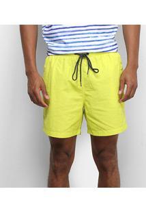 Bermuda Colcci Cordão Masculina - Masculino-Amarelo