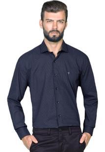 Camisa Hugo Rossi Estampa Geio Preta - Masculino