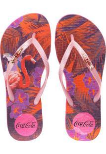 Sandália Coca Colatropical Summer Feminina