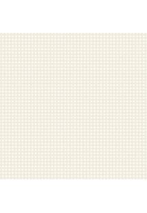 Papel De Parede Lymdecor Coleção Infantário Quadriculado 1743 Bobinex Bege