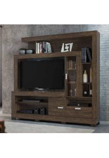 Estante Home Para Tv 55 Polegadas Grand Acácia Cacau