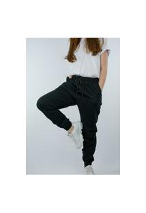 Calça Jogger K2 Fashion Top Feminino Preto